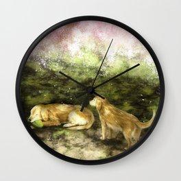 Kosuke and Sakura Wall Clock