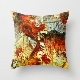 automn Throw Pillow