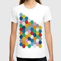 honeycomb T-shirts featuring Honeycomb 2 by Project M