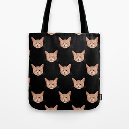 Kiki, the pretty blind cat Tote Bag