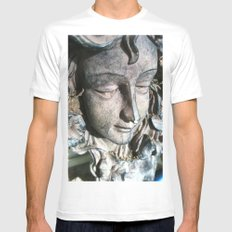 angel face Mens Fitted Tee MEDIUM White