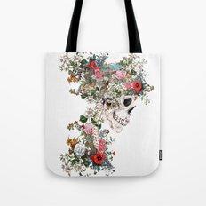 Skull Queen Tote Bag