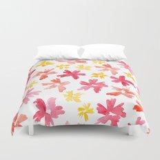 Sunny Florals Duvet Cover