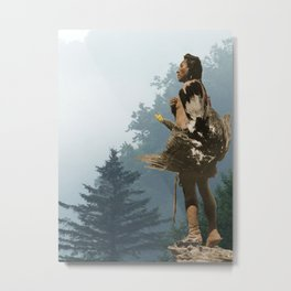 The eagle catcher - American Indian Metal Print