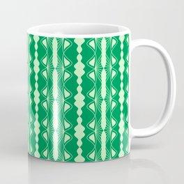 Saloon Wallpaper Mint Green Sap Green Country Wallpaper Molding Southwestern Design Pattern Coffee Mug