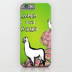 Llama on the Brains Slim Case iPhone 6s