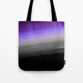 Purple Gray Black Smooth Ombre Tote Bag