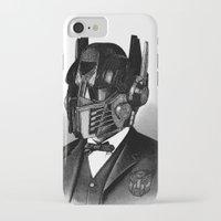 optimus prime iPhone & iPod Cases featuring Optimus Prime by DIVIDUS