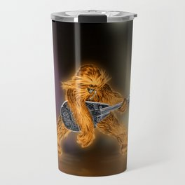 Chewbacca Rock Star Travel Mug