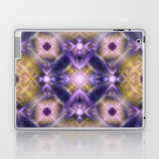 Pink purple print. Abstraction. Laptop & iPad Skin