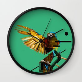 Bird -M- Wall Clock