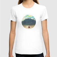 never stop exploring T-shirts featuring NEVER STOP EXPLORING III by Leslee Mitchell