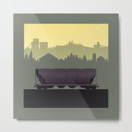 The Lonely Hopper Metal Print