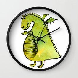 Friendly Dragon Wall Clock