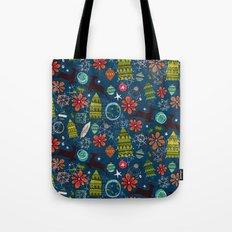 joyous jumble indigo Tote Bag