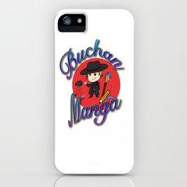 Buchan Manga Merchandise iPhone Case