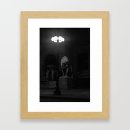 Entering Ainran Framed Art Print
