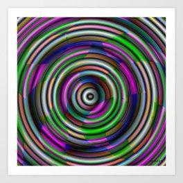 Splendor Button Art Print