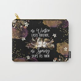 Stars Winter Spring Carry-All Pouch