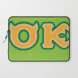 Monster University Fraternity : Oozma Kappa Laptop Sleeve