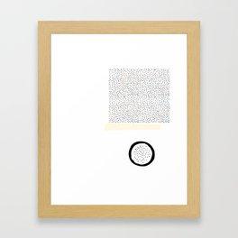 Composición IV Framed Art Print