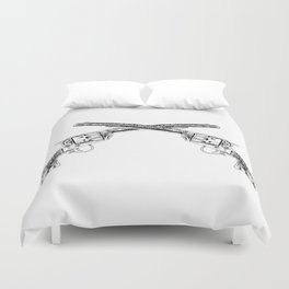 Six Shooter Duvet Cover