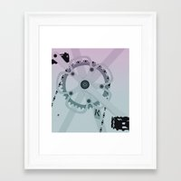yowamushi pedal Framed Art Prints featuring Pedal by ccamiloysixto