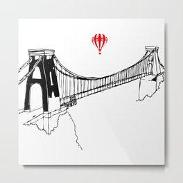 Clifton Bridge   Metal Print