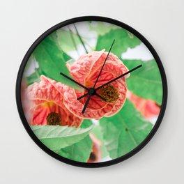 Floral 21 Wall Clock