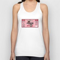 snatch Tank Tops featuring Snatch Double Cherry Cream Stout Label by Pen Island Brewing Company