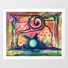 Paesaggio Sottomarino Art Print