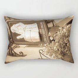 The Crutched Friar pub London Rectangular Pillow