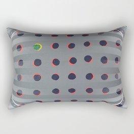 Dots - 3D circle Rectangular Pillow