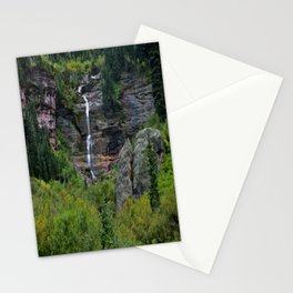 WaterFall in Telluride Stationery Cards