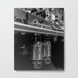 Tubes Metal Print