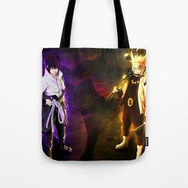 Naruto ANd Sasuki Tote Bag