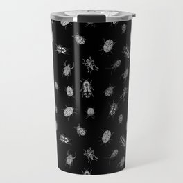 Beautiful Bugs Black Travel Mug