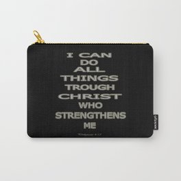 Philippians 4:13 Carry-All Pouch