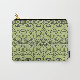 Green Marocco Carry-All Pouch