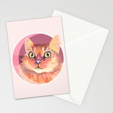 Miss Meowgi Stationery Cards
