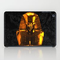 versace iPad Cases featuring Gangsta Pharaoh II Gold & Versace by KARAM