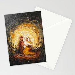 the nativity Stationery Cards