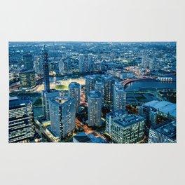 Blue light Yokohama Rug