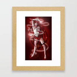 Sailor Senshi Grell Framed Art Print