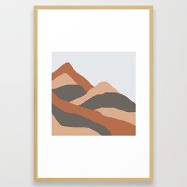 MOUNTAIN BOG Framed Art Print