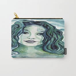 Maybe I'm A Mermaid (Tori Amos inspired art) Carry-All Pouch