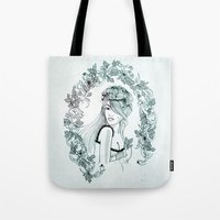 charmaine olivia Tote Bags featuring Olivia by Quill