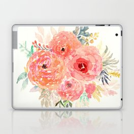 Pink Flower Bouquet Laptop & iPad Skin