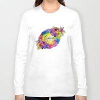 explore Long Sleeve T-shirts featuring explore! by Luna Portnoi