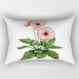 Gerbera Daisy Rectangular Pillow